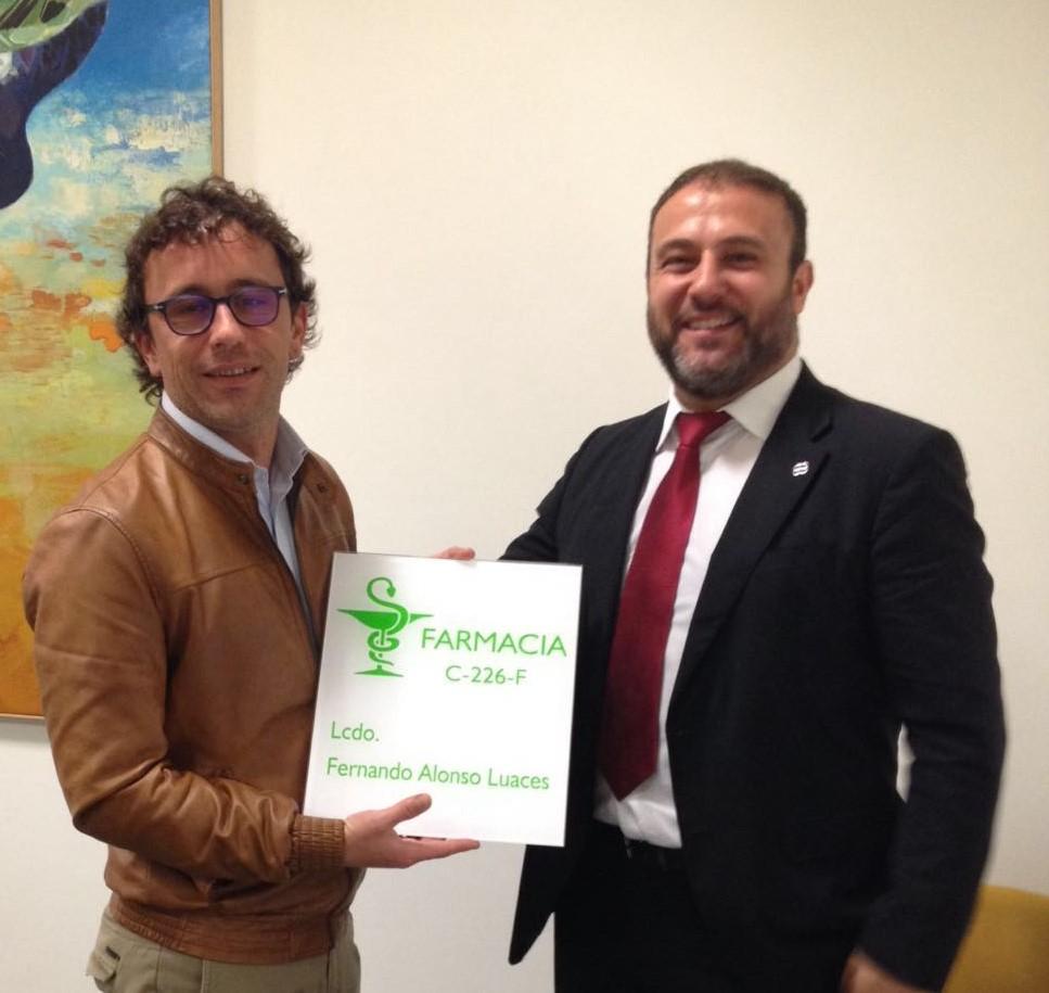 FarmaQuatrium Fernando Alonso Luaces