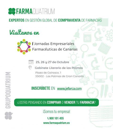 Emailing 1 I Jornadas Empresariales Farmaceuticas de Canarias