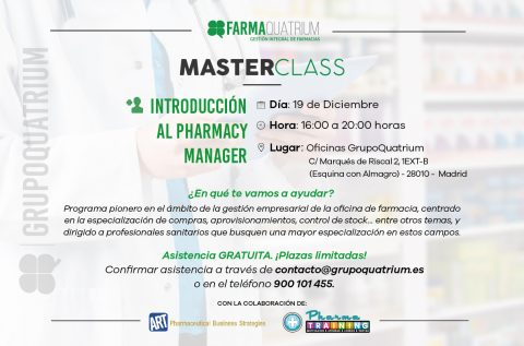 Master Class Introducción al Pharmacy Manager