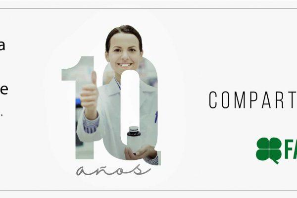 FarmaQuatrium comenzamos el año celebrando nuestro 10 aniversario y revalidando nuestro liderazgo nacional en gestión de compraventa de farmacias