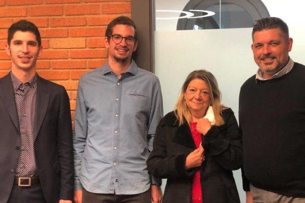 Alex Collado estrena titularidad de farmacia en Sant Boi de Llobregat