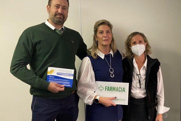 Mª Soledad Muelas ya es nueva titular de farmacia en Madrid