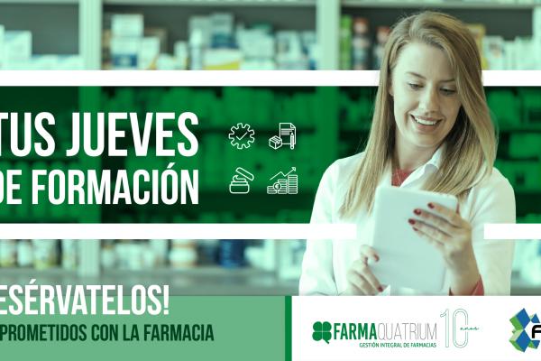 Fortalecer la gestión y maximizar los beneficios de la oficina de farmacia, objetivos de las nuevas sesiones formativas de FarmaQuatrium con FARVAL