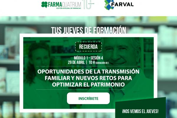 Sesión formativa «Oportunidades de la transmisión familiar»