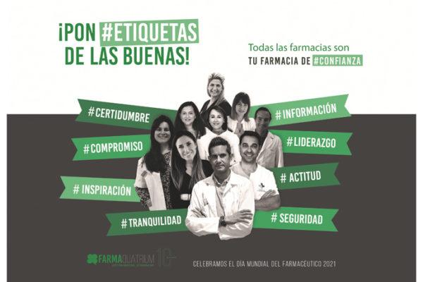 Lanzamos la campaña de reconocimiento al sector farmacéutico ¡Pon #Etiquetas de las buenas!